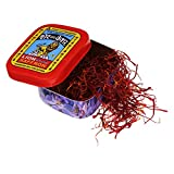 Lion Saffron, Original Kashmir Lacha Saffron/ Kesar/ Keshar (Certified Grade A) for Biryani, Beauty, Improved Health and Tilak (Pack of 1 (1gram))