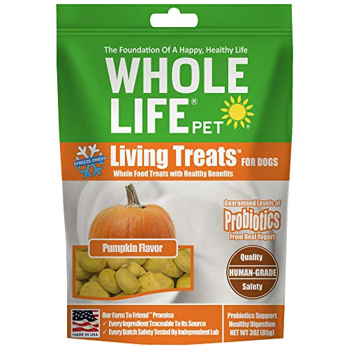 3-Oz Whole Life Pet Pumpkin Flavor Freeze-Dried Dog Treats $2.20 + Free Shipping w/ Amazon Prime or Orders $25+