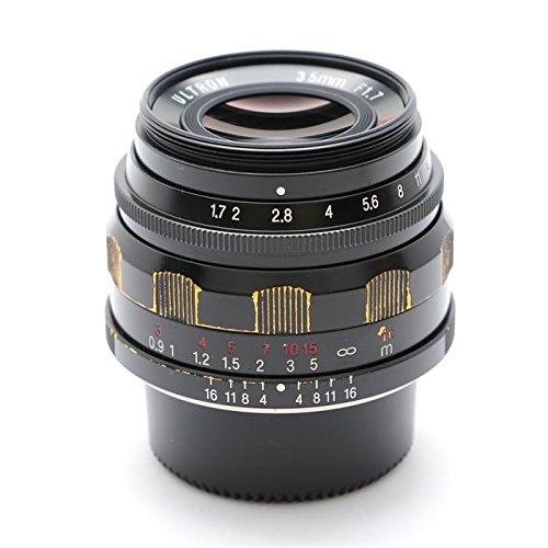 Voigtländer 35mm f/1,7Ultron schwarz asphärisch Leica M Halterung