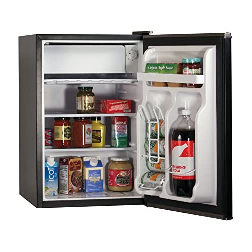BLACK+DECKER BCRK25B Compact Refrigerator Energy Star Single Door Mini Fridge with Freezer, 2.5 Cubic Feet, Black 5