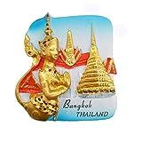 Bangkok Thaïlande 3D Aimant de réfrigérateur Souvenir Touristique Collection...