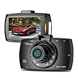 ドライブレコーダー 車載カメラ ドラレコ 2.2インチ 1080PフルHD 300万画素 ビデオカメラ 100度広角 Gセンサー 循環ループ録画 小型 防犯
