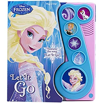 Disney Frozen Elsa Anna Olaf and More! - Let It Go Little Music Note Sound Book - PI Kids  Play-A-Song