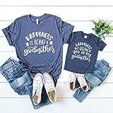 Godmother Shirt Gifts for Her Women Fairy Godmother Gift From Godchild godchildren