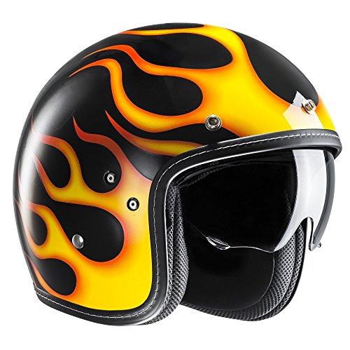HJC Motorradhelm FG-70s Aries MC3, Schwarz/Gelb, Größe M