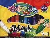 Flamastry Colorino Magiczne 10 kolorów