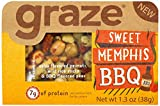 Graze Natural Sweet Memphis BBQ Snack with Salsa Peanuts, Wild Rice...