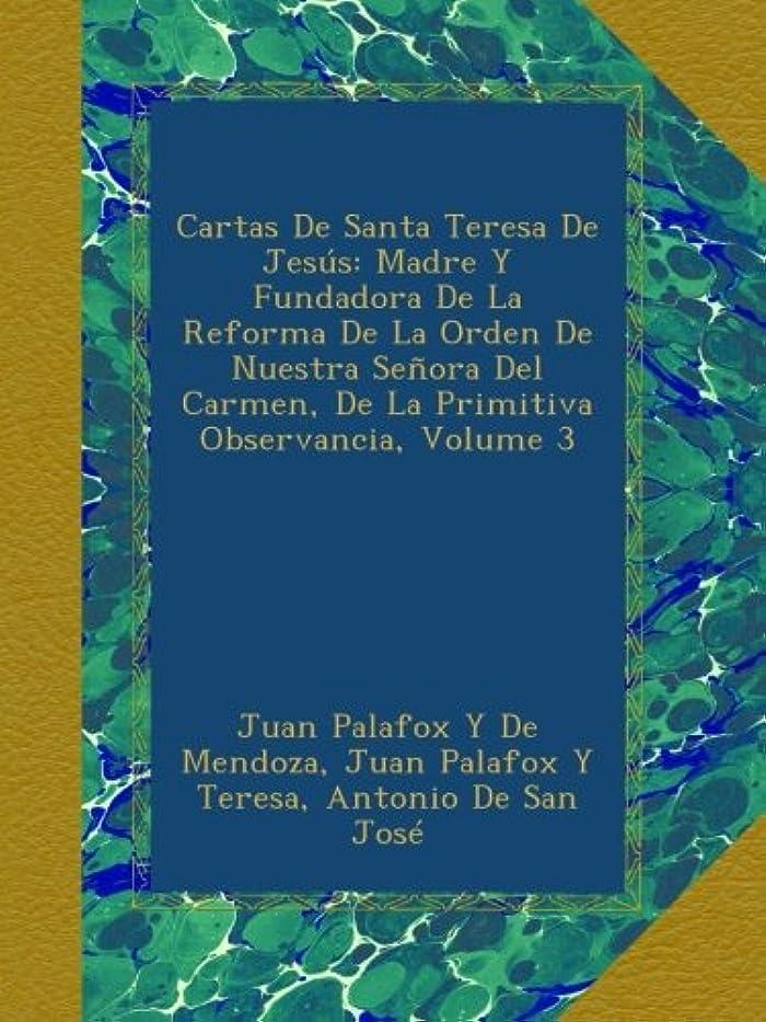 流星死にかけている我慢するCartas De Santa Teresa De Jesús: Madre Y Fundadora De La Reforma De La Orden De Nuestra Se?ora Del Carmen, De La Primitiva Observancia, Volume 3