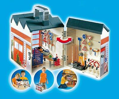 PLAYMOBIL® 4043 - Bauhof zum Mitnehmen