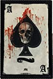Ace of Spades Death Card Morale Patch. Perfect for your Tactical Military Army Gear, Backpack, Operator Baseball Cap, Plate Carrier or Vest. 2x3' Hook and Loop Patch. Made in the USA