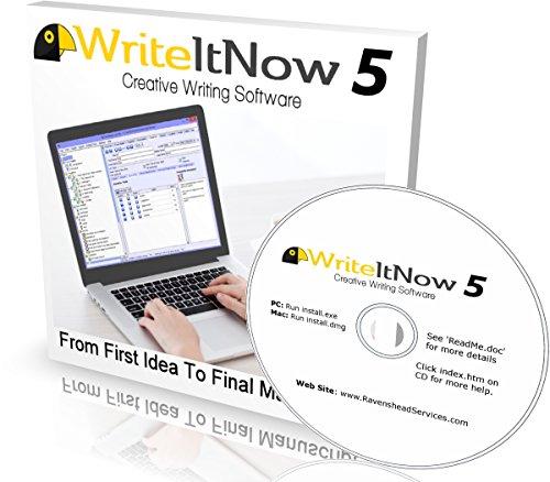WriteItNow 5 Novel Writing Software