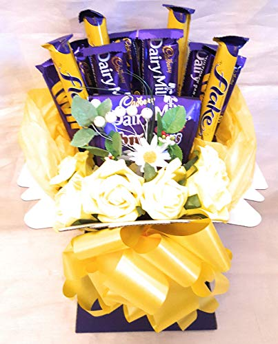 Chocolate Bouquet Daisy Cadburys - Sweet Gift Hamper