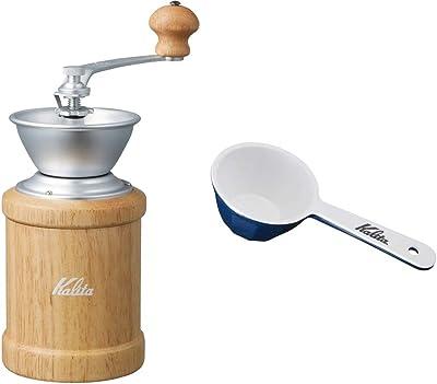 【セット買い】 カリタ コーヒーミル 手挽き KH-3N ナチュラル+コーヒーメジャー 10gセット