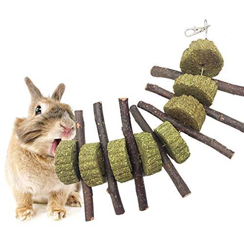 AUOKER Bunny Chew Toys for Teeth, Organic Apple...