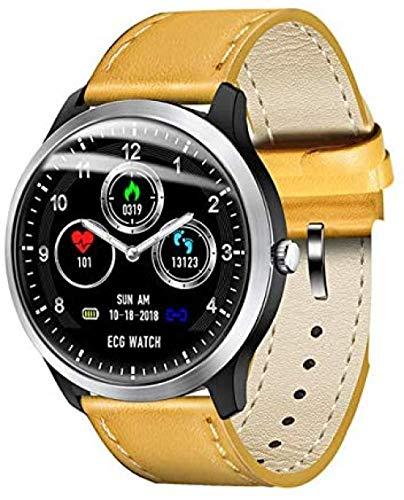 El nuevo reloj inteligente N58 para hombre PCG ECG I IP67 impermeable monitor de frecuencia cardíaca pulsera de presión arterial puede reemplazar el reloj inteligente avanzado.