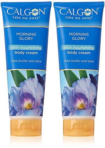 Calgon Morning Glory Skin Nourishing Body Cream 8 Oz / 226 G for Women by Calgon (2 PACK)