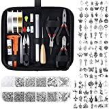 Jewelry Making Kit, Audab Jewelry Making Supplies Jewelry Tools Kit Wire Wrapping Kit with Jewelry Making Tools, Charms, Jewelry Wires and Jewelry Findings for Jewelry Repair and Beading