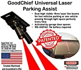 GoodChief Universal Garage Laser Parking Assist  An Innovative Way to Easily Park and Guide with Dual Laser Lines Projected on Your Vehicle. Find the Difference on Our Video