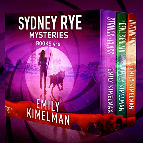 Sydney Rye Mystery Box Set, Books 4-6 cover art