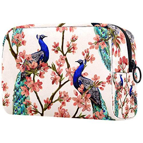 Bolsa de maquillaje personalizada para brochas de maquillaje portátil para mujer, bolso de mano, organizador de viaje