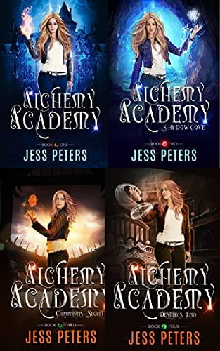 Alchemy Academy Complete Box Set (English Edition)