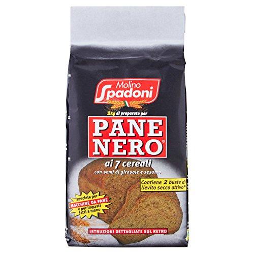 Molino Spadoni Farina Pane Nero, 1kg