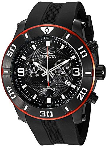 Best Swiss Watches Under 500 - Invicta Men's 19825 Pro Diver Swiss Watch