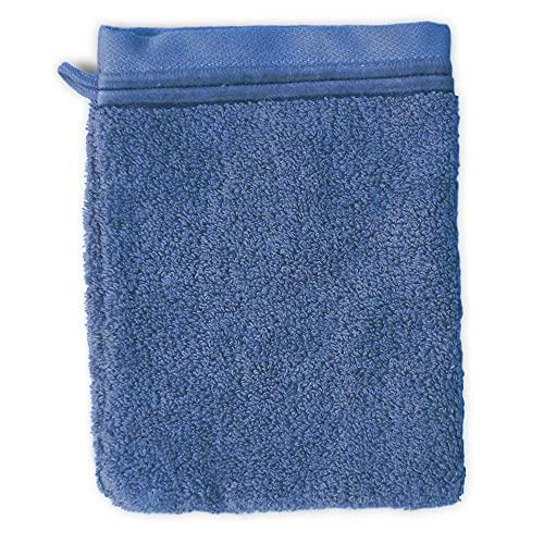 Linnea Gant de Toilette 16x21 cm Juliet Bleu Ciel 520 g/m2