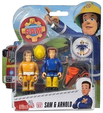 Sam El Bombero - Figura configurada con accesorios Serie 2 - Sam & Arnold