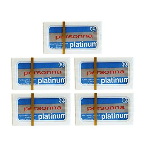 Personna Blue Platinum Blades (50) 50 Blades by Personna