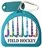 Zumoe Field Hockey Case for Mouth Guards, Retainers - Winning Team - Aqua