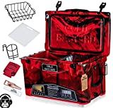 45QT Cold Bastard Rugged+ CAMO Red Best Premium Ice Chest Cooler Accessories Free S&H