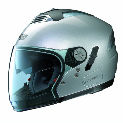 Nolan Casco Moto Air, Platino Plateado, XS
