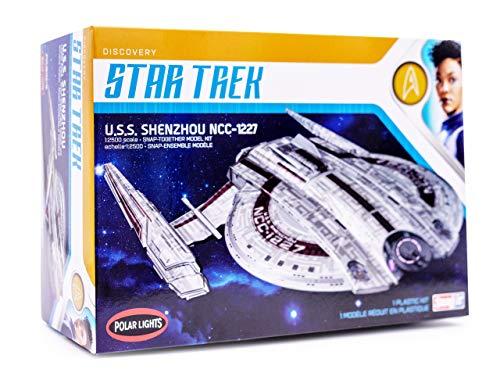 Star Trek USS Shenzhou NCC-1227 Polar Lights 1:2500 Scale Plastic Kit