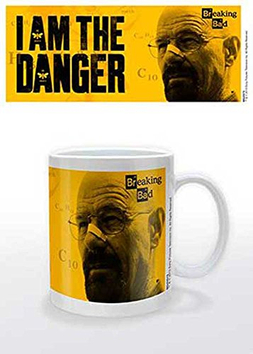 empireposter–Breaking Bad–I Am The Danger–Tamaño (cm), Aprox. 9,5–Tazas de Licencia, Nuevo–Descripción:–Cerámica Taza de