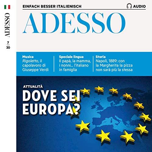 Adesso Audio - Dove sei Europa? 7/2020 Titelbild