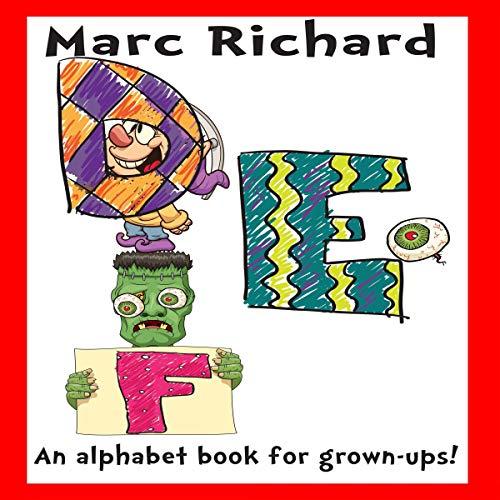 DEF: An Alphabet Book for Grown-Ups! audiobook cover art