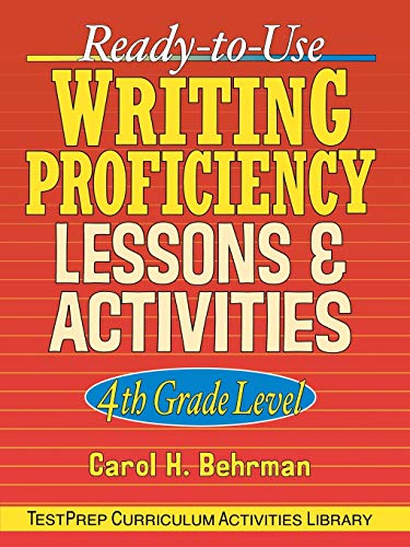 RTU Writing Prof. Lessons 4th Gr: 4th Grade Level (J-B Ed: Test Prep)