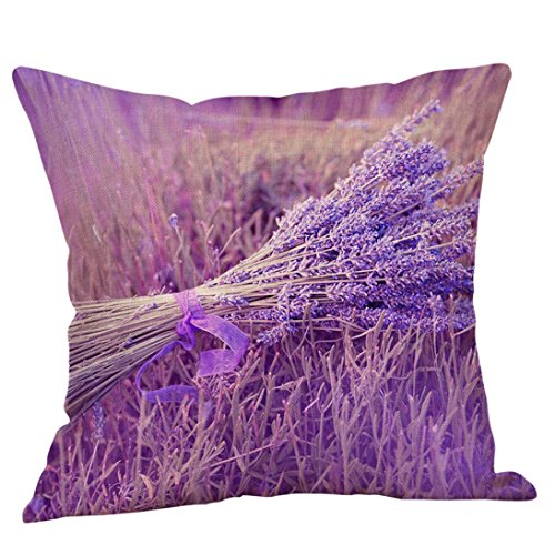 sunnymi letto cuscino Cover Lavanda stile divano federa per cuscino, lenzuola Baby letto sedia, d, 45cmX45cm