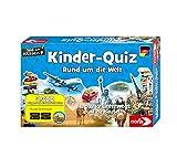 Noris 606011630 Kinder-Quiz Rund um die Welt, der Familen-Spielspaß für Zuhause oder unterwegs, für 1-6 Spieler ab 6 Jahren