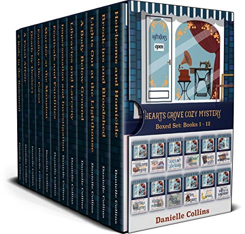 Hearts Grove Cozy Mystery Boxed Set: Books 1 - 12