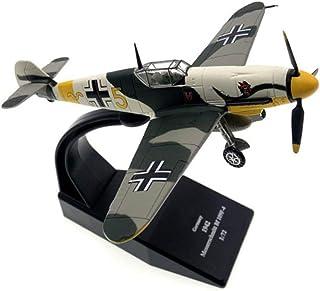 NANE Luchador Bf-1091/27 Modelo de avión Militar, Modelo de Combate de aleación de fundición a presión,Exquisito Juguete de avión de Combate Militar para