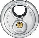 Abus 23/70 KA RR00390 - Candado Diskus llave serreta 70mm llaves iguales