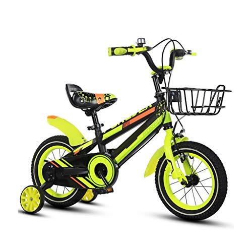 TXTC 3-8 Años Los Muchachos del Niño De Las Muchachas De La Bici, Bicicleta Nino con Las Ruedas De Entrenamiento, Ergonómico Silla, Bici De Montaña, Bicicletas Bebé For Deportes Al Aire Libre