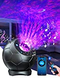 Lupantte Proyector Estrellas,Proyector Luz Estelar Rotación de 360°,30 Modos de Color Proyector Galaxia con 3D-Altavoz y Temporizador,Galaxy Projector para Decoración/Regalo/Luz Nocturna,Adulto /Niño
