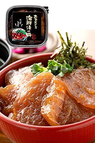 越前宝や 海鮮漬け丼の具 マグロ 1パック (1〜2食分) 国産 海鮮丼 海鮮漬け 人気 海鮮丼の具 【冷凍】