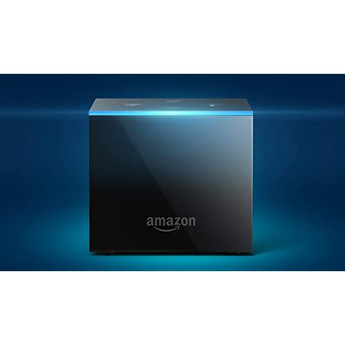 Fire TV Cube (1st Gen), hands-free with Alexa and 4K Ultra HD and 2nd Gen Alexa Voice Remote - Previous Generation