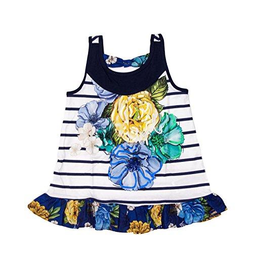 Desigual T-Shirt bebé-niñas Large Blanco