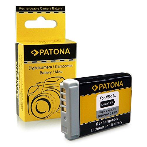 Bateria NB-13L para Canon PowerShot G7 X | G5 X | G9 X | G7 X Mark II | SX720 HS | G7X | G5X | G9X