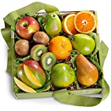 A Gift Inside Organic Golden State Signature Fruit Gift Collection, Assorted, Organic Mixed Fruit